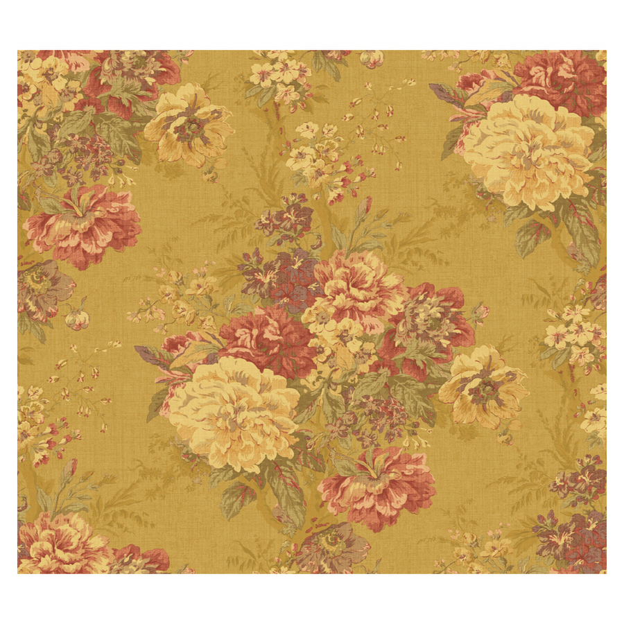 Shop waverly ballad bouquet wallpaper at for Waverly wallpaper