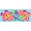 allen + roth Brightly Colored Tye Dye Panel