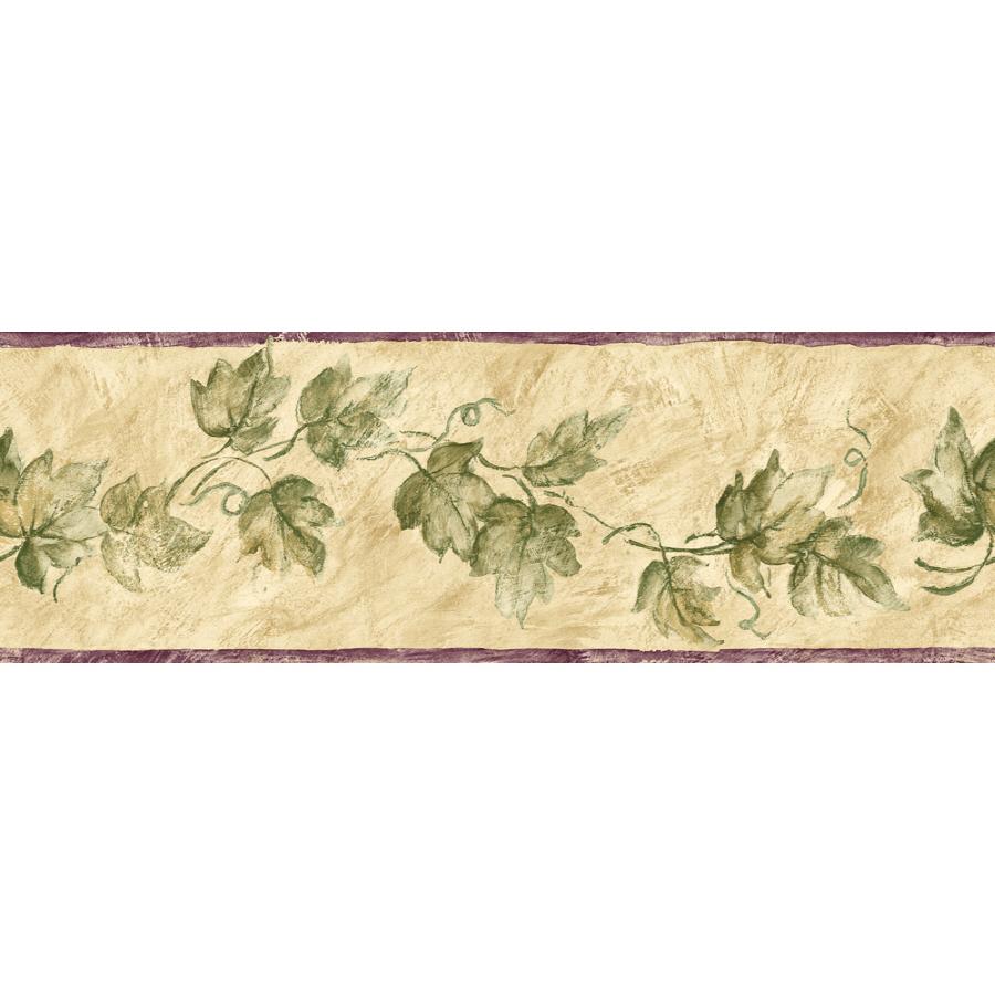 shop sunworthy 6 ivy watercolor prepasted wallpaper