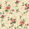 Sunworthy Beige Peelable Vinyl Prepasted Wallpaper