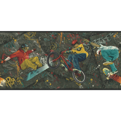 extreme sports wallpapers. wallpaper Sanitas Extreme Sports Wallpaper Border$21$21 extreme sports