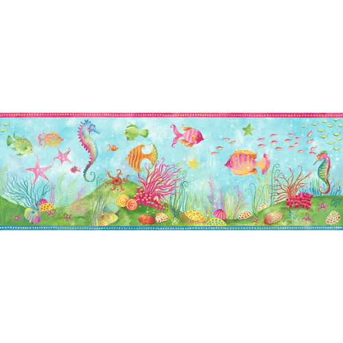 fish wallpaper border. Fish Wallpaper Border