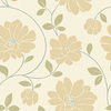 allen + roth Beige Strippable Non-Woven Paper Prepasted Wallpaper