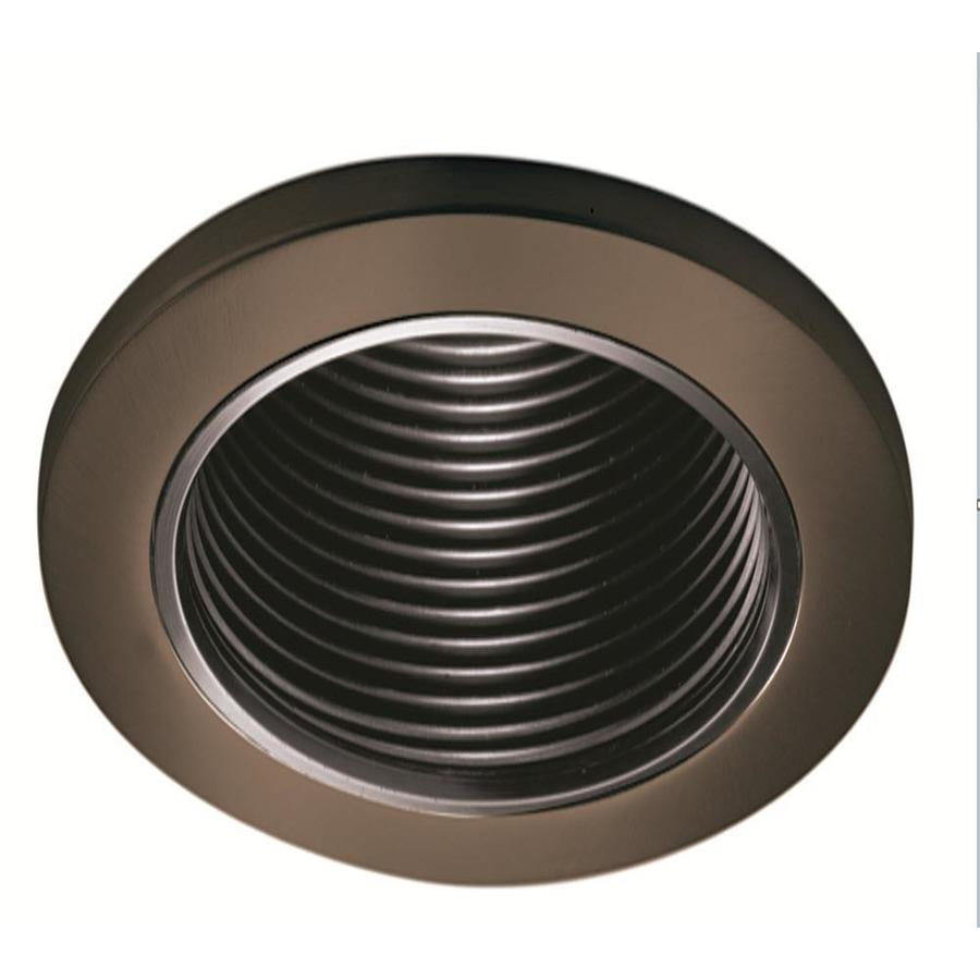 shop halo tuscan bronze baffle recessed light trim fits housing. Black Bedroom Furniture Sets. Home Design Ideas