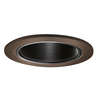 Halo Tuscan Bronze Baffle Recessed Light Trim (Fits Housing Diameter: 4-in)