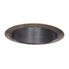 Halo Baffle Trim 6-in Tuscan Bronze Baffle Recessed Lighting Trim