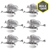 Halo White New Construction Recessed Light Kit (Fits Opening: 6-in)