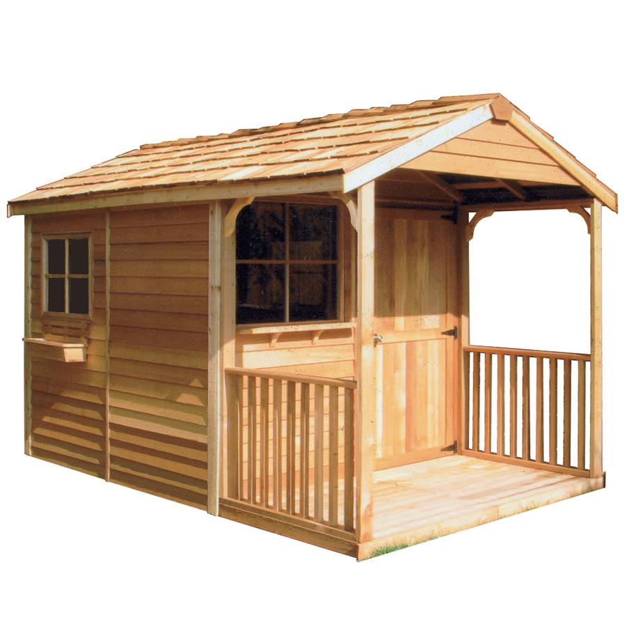 lowes wood storage sheds
