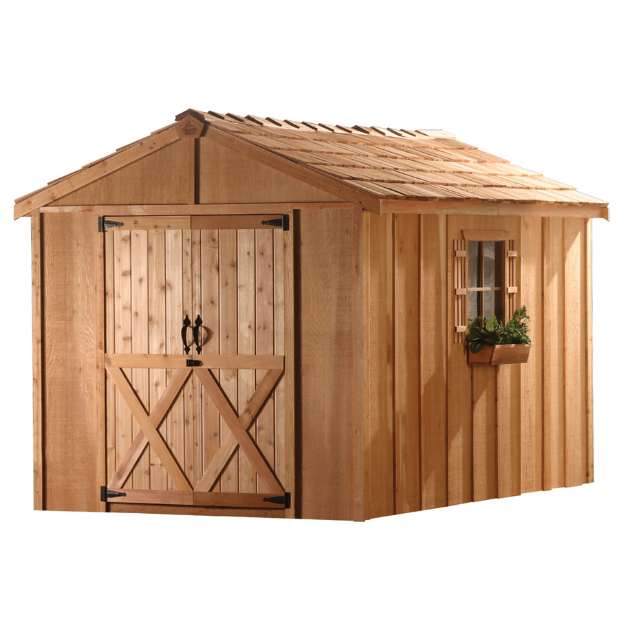 ^ 8x12 Storage Shed Plans. 8x12 Gable xterior. More han Design nd ...