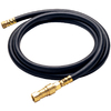 Barbecue Genius 3/8-in 0.65-in x 120-in Male-Female Quick-Connect Natural Gas Hose