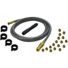 Grill Care Company 3/8-in 0.625-in x 10-ft Female-Female Natural Gas Hose