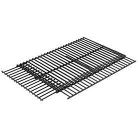 Barbecue Genius Adjustable Rectangle Porcelain-Coated Steel Cooking Grate
