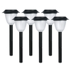Portfolio 6-Pack Black Solar-Powered LED Path Lights