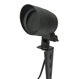 Portfolio Black Low Voltage 20-Watt (25W Equivalent) Halogen Spot Light