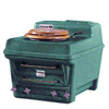 Santerra Green Green Granite 0.8-GPF (3.03-LPF) 4-in Rough-in Round Composting Comfort Height Rear Outlet Toilet