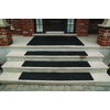 Secure Step Black Rectangular Stair Tread Mat (Common: 9-in x 35-in; Actual: 9-in x 35-in)