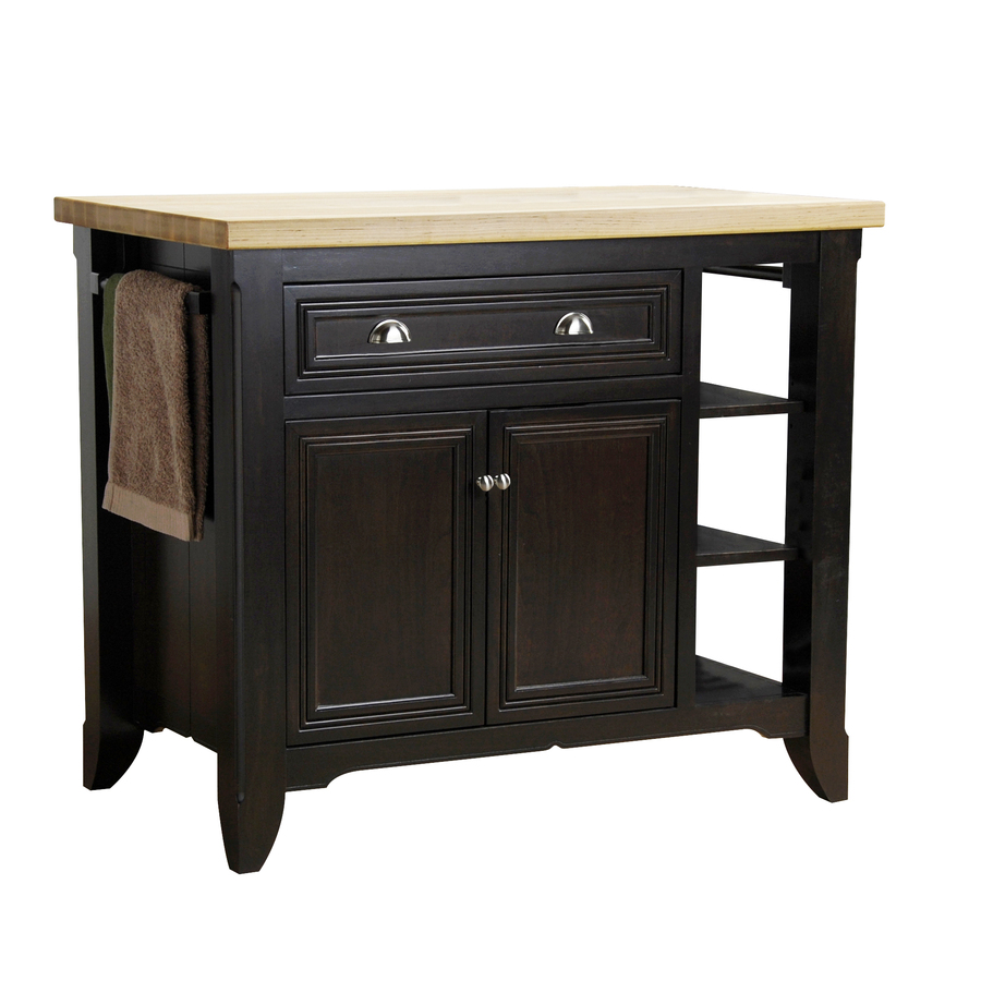 Kitchen Island Kids Jeffrey Alexander Loft Black