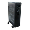 Optimus 5,100-BTU Quartz Tower Electric Space Heater with Thermostat and Energy Saving Setting
