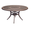 "Garden Treasures Herrington 54"" Cast Aluminum Round Patio Dining Table"