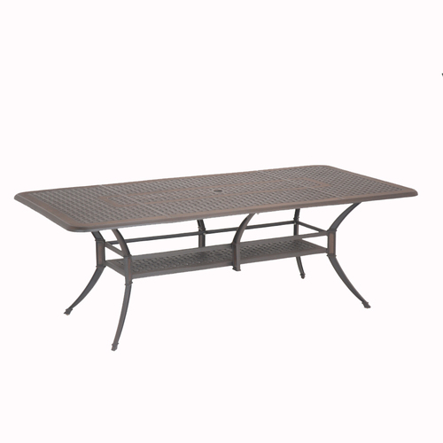garden treasures herrington bronze aluminum patio dining