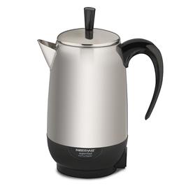 Farberware Black/Silver 8-Cup Percolator