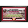 The Highland Mint 20-in W x 12-in H University Of Oklahoma Stadium Bronze Coin Panoramic Photo Mint Limited Editions