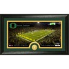 The Highland Mint 20-in W x 12-in H University Of Oregon Stadium Bronze Coin Panoramic Photo Mint Limited Editions
