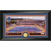 The Highland Mint 20-in W x 12-in H Boise State University Stadium Bronze Coin Panoramic Photo Mint Limited Editions
