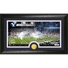 The Highland Mint 20-in W x 12-in H Brigham Young University Stadium Bronze Coin Panoramic Photo Mint Limited Editions