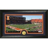 The Highland Mint 20-in W x 12-in H University Of Illinois Stadium Bronze Coin Panoramic Photo Mint Limited Editions