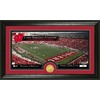 The Highland Mint 20-in W x 12-in H University Of Wisconsin Stadium Bronze Coin Panoramic Photo Mint Limited Editions
