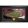 The Highland Mint 20-in W x 12-in H Virginia Tech Stadium Bronze Coin Panoramic Photo Mint Limited Editions