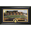 The Highland Mint 20-in W x 12-in H West Virginia University Stadium Bronze Coin Panoramic Photo Mint Limited Editions