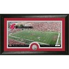 The Highland Mint 20-in W x 12-in H Washington State University Stadium Minted Coin Panoramic Photo Mint Limited Editions