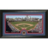 The Highland Mint 20-in W x 12-in H Chicago Cubs Infield Dirt Coin Panoramic Photo Mint Limited Editions
