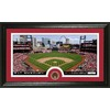 The Highland Mint 20-in W x 12-in H Saint Louis Cardinals Infield Dirt Coin Panoramic Photo Mint Limited Editions