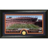 The Highland Mint 20-in W x 12-in H Denver Broncos Stadium Bronze Coin Panoramic Photo Mint Limited Editions