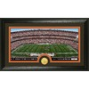 The Highland Mint 20-in W x 12-in H Cleveland Browns Stadium Bronze Coin Panoramic Photo Mint Limited Editions