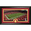 The Highland Mint 20-in W x 12-in H Kansas City Chiefs Stadium Bronze Coin Panoramic Photo Mint Limited Editions