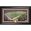 The Highland Mint 20-in W x 12-in H Minnesota Vikings Stadium Bronze Coin Panoramic Photo Mint Limited Editions