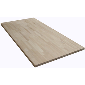 Shop The Baltic Butcher Block 6 Ft Natural Straight Wood Birch Kitchen Countertop At