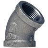 Mueller Proline 1/2-in Dia 45-Degree Galvanized Elbow Fitting