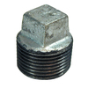 Mueller Proline 1/2-in Dia Galvanized Plug Fittings