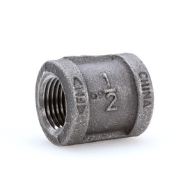 Mueller 1/2-in Black Iron Coupling Fitting