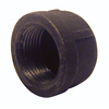 Mueller Proline 1-1/4-in dia Black Iron Cap Fitting