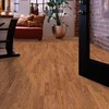 allen + roth 7.48-in W x 3.93-ft L Gunstock Wood Plank Laminate Flooring