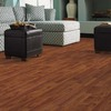 allen + roth 7.48-in W x 3.93-ft L Warmed Walnut Wood Plank Laminate Flooring