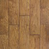 allen + roth 6.14-in W x 4.52-ft L Handscraped Saddle Handscraped Laminate Floor Wood Planks