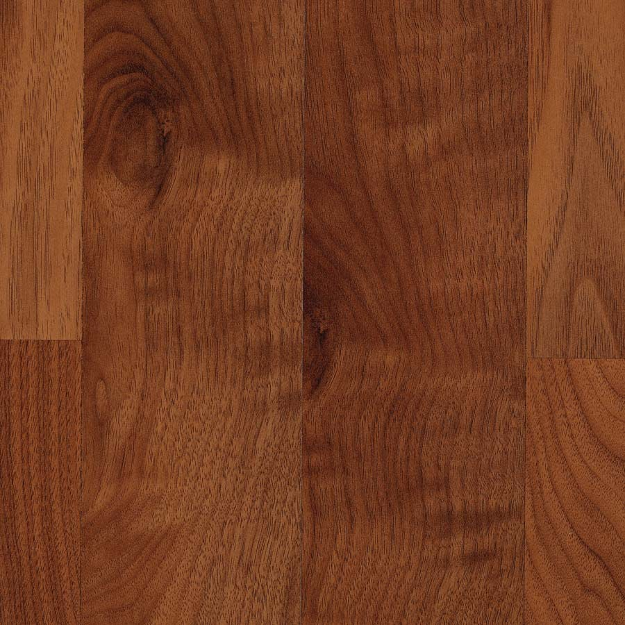 Shop allen roth smooth walnut wood planks sample warmed for Walnut laminate flooring