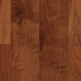 allen + roth Smooth Walnut Wood Planks Sample (Warmed Walnut)